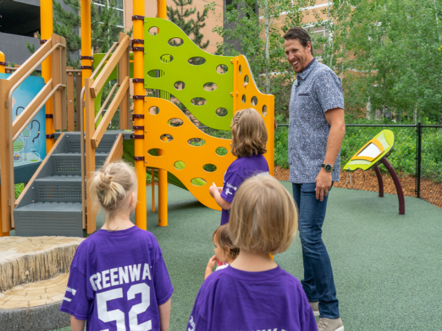 Playground Reveal at Children's Minnesota 2018